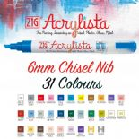 Zig Acrylista 6mm Paint Markers